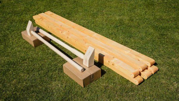 Wooden game mallets - Gardoolet