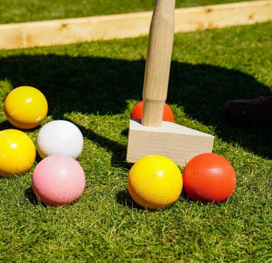 Summer lawn games
